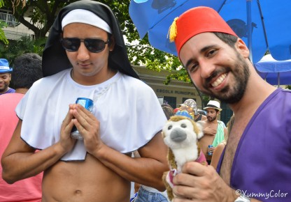 On a même des soeurs au carnaval